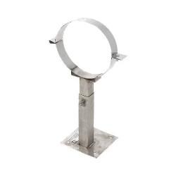 Хомут телескопический настенный